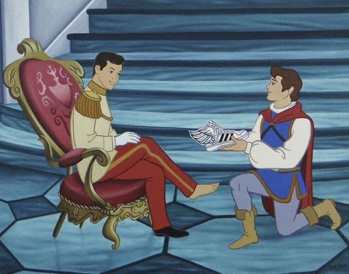 принц из Диснея