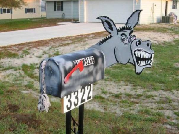 10+ креативных почтовых ящиков со всего мира! 4
