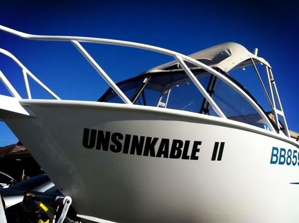 25 самых странных и смешных названий лодок, мимо которых без улыбки не пройти! 23