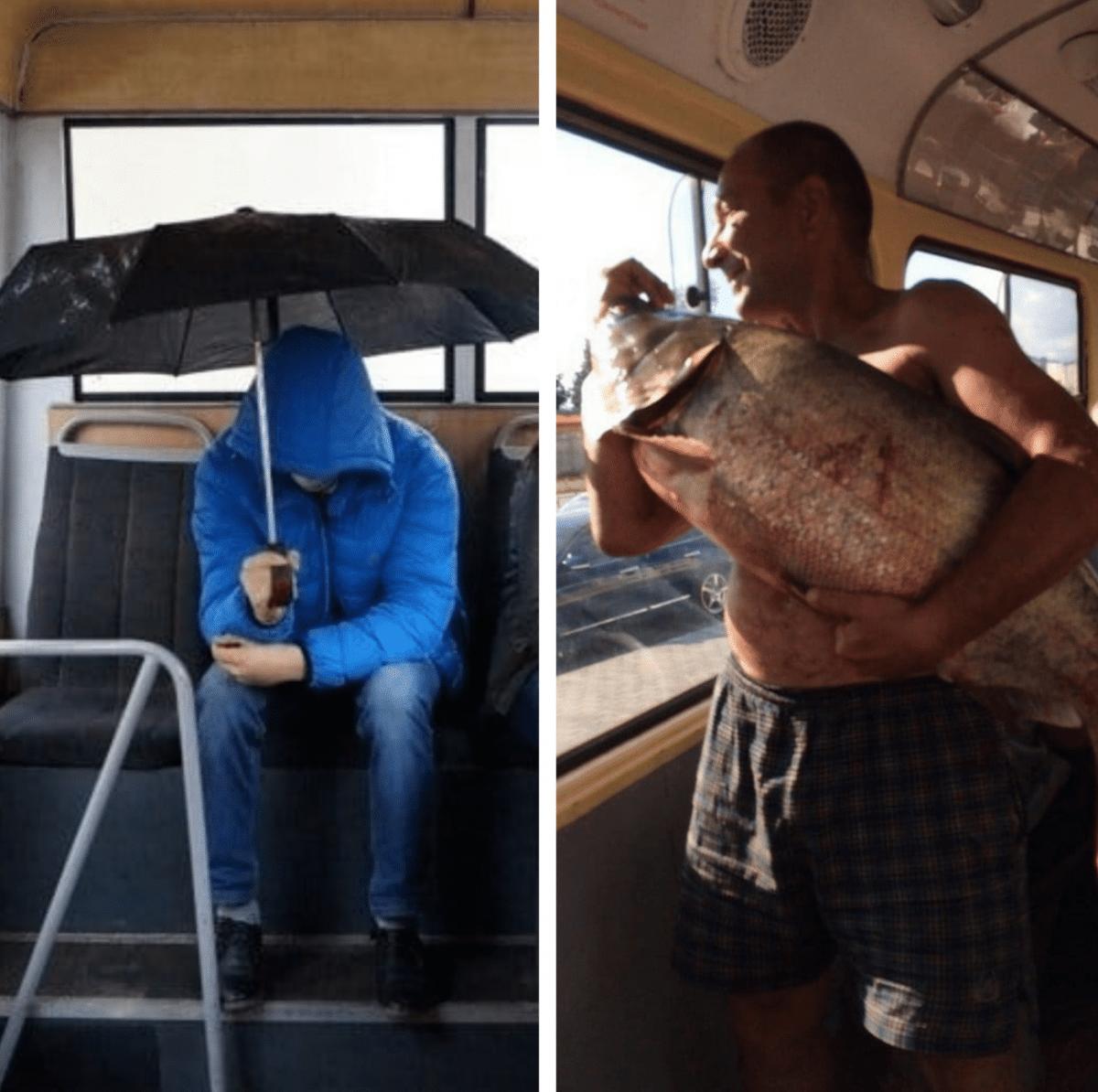 автобусный юмор