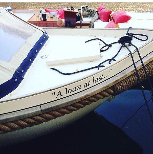 25 самых странных и смешных названий лодок, мимо которых без улыбки не пройти! 20