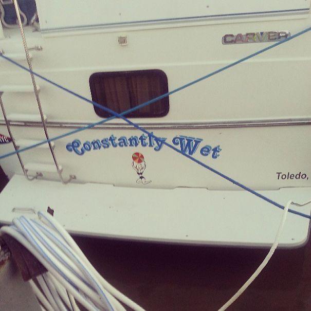 25 самых странных и смешных названий лодок, мимо которых без улыбки не пройти! 18