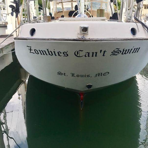 25 самых странных и смешных названий лодок, мимо которых без улыбки не пройти! 17