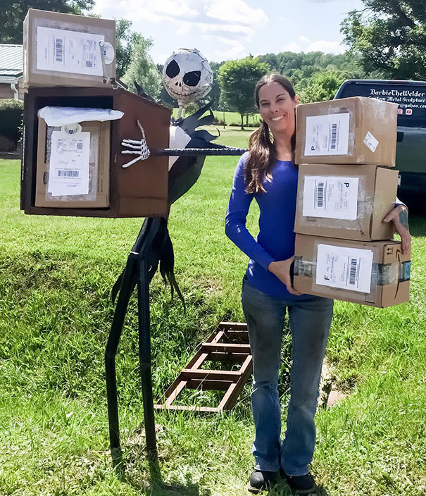 10+ креативных почтовых ящиков со всего мира! Часть II 12