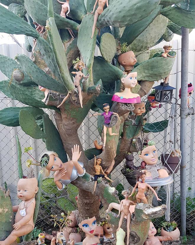 14 раз, когда головы кукол выступали в роли цветочных горшков и пугали нас до смерти! 4