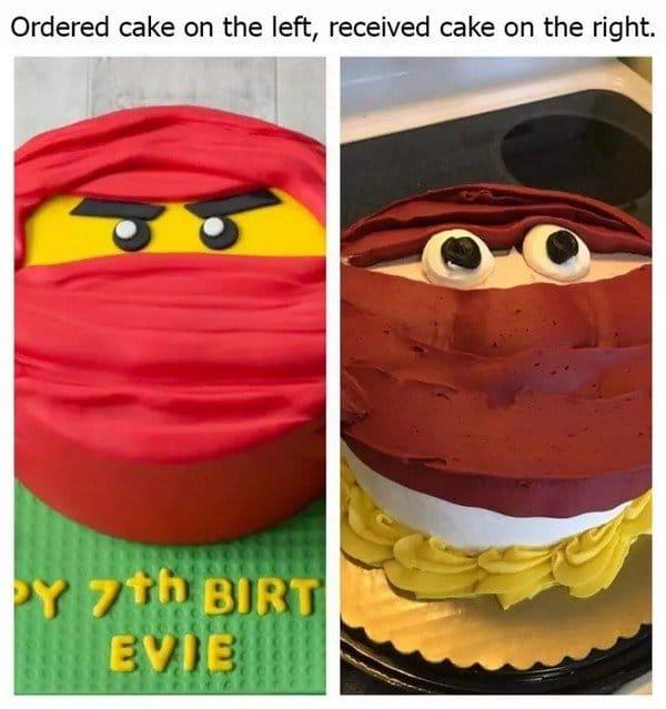 торт ожидание и реальность