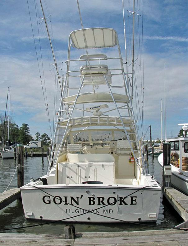 25 самых странных и смешных названий лодок, мимо которых без улыбки не пройти! 4