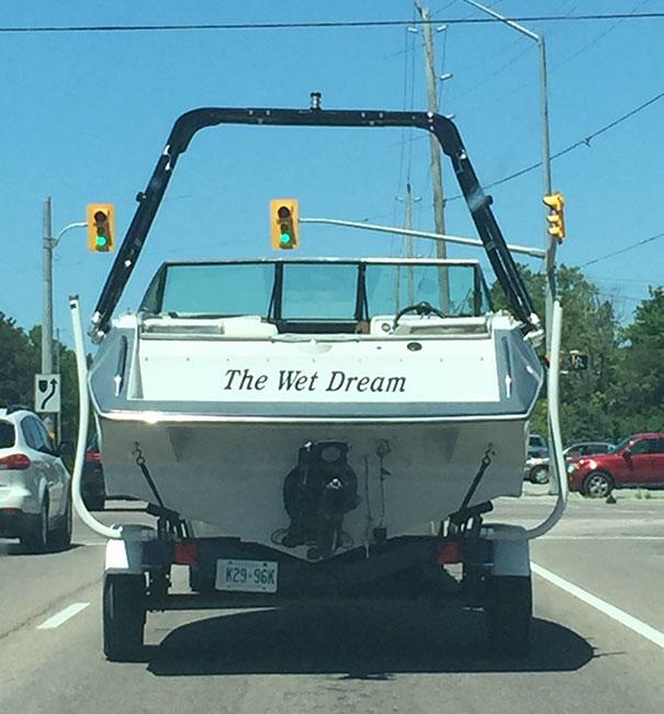 25 самых странных и смешных названий лодок, мимо которых без улыбки не пройти! 6