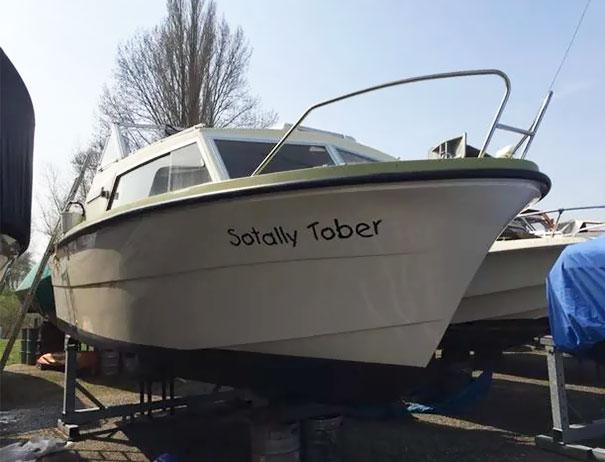 25 самых странных и смешных названий лодок, мимо которых без улыбки не пройти! 2