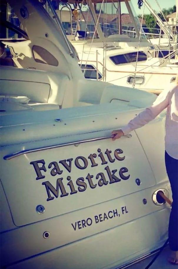 25 самых странных и смешных названий лодок, мимо которых без улыбки не пройти! 15