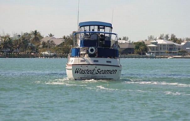 25 самых странных и смешных названий лодок, мимо которых без улыбки не пройти! 11