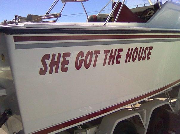 25 самых странных и смешных названий лодок, мимо которых без улыбки не пройти! 9
