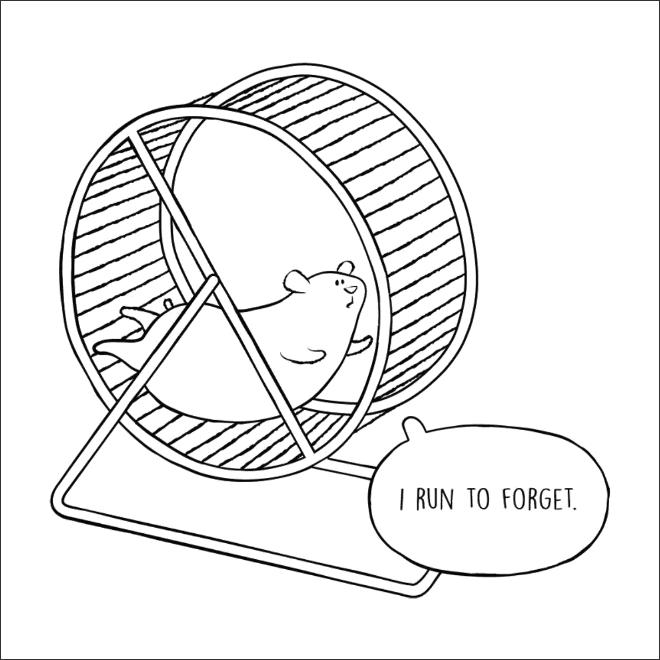 хомяк в колесе