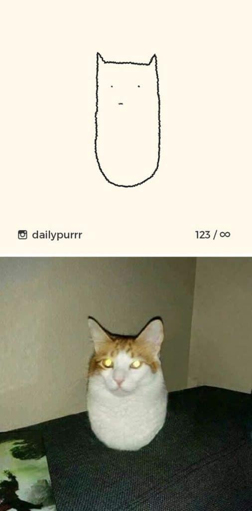 рисунки котов 16