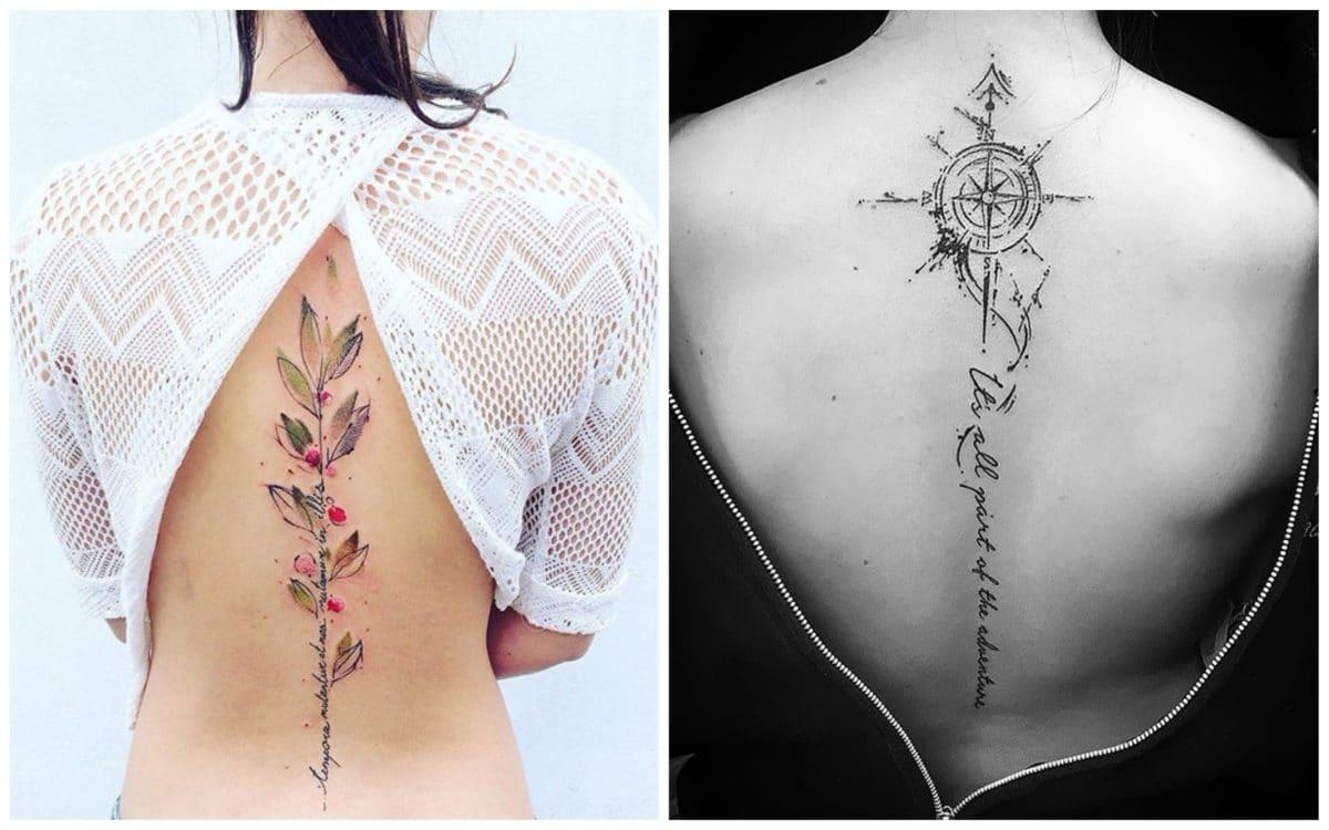 19 лучших идей тату на спине для девушек!
