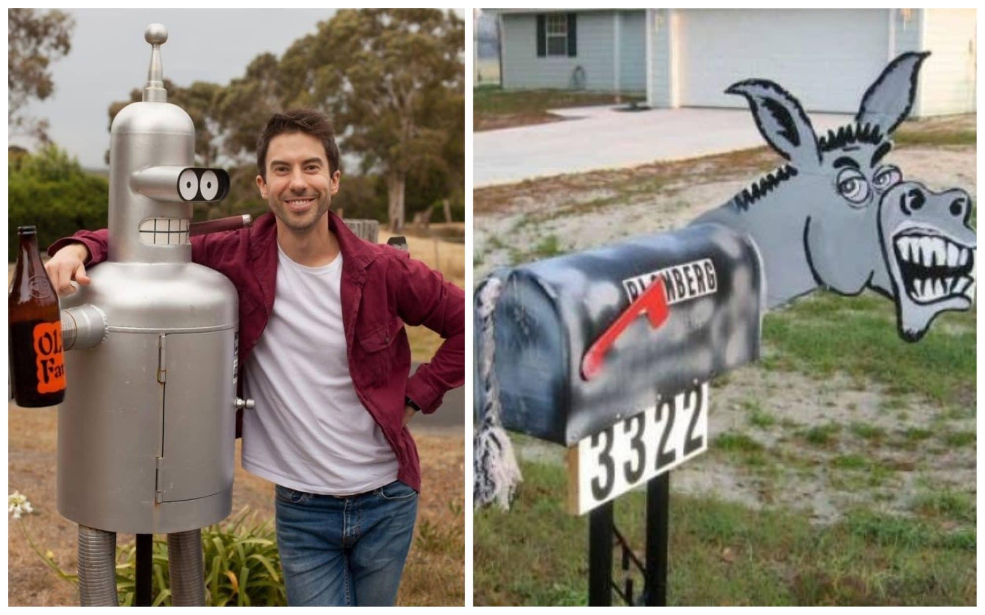 10+ креативных почтовых ящиков со всего мира!