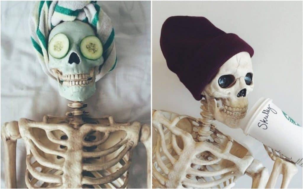 Поздравлением, скелеты приколы картинки
