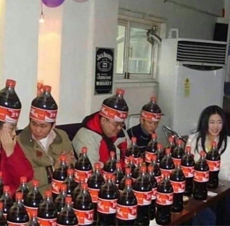 бутылки Coca Cola