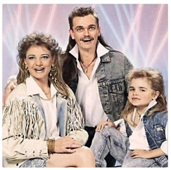 фото семьи из 80-х