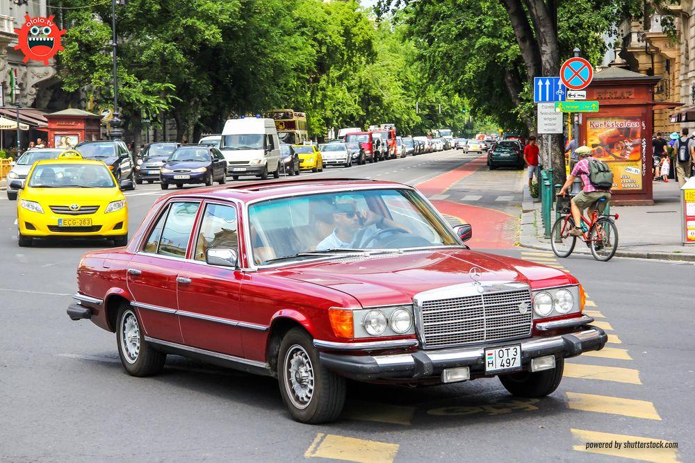 мерседес S-класса W126