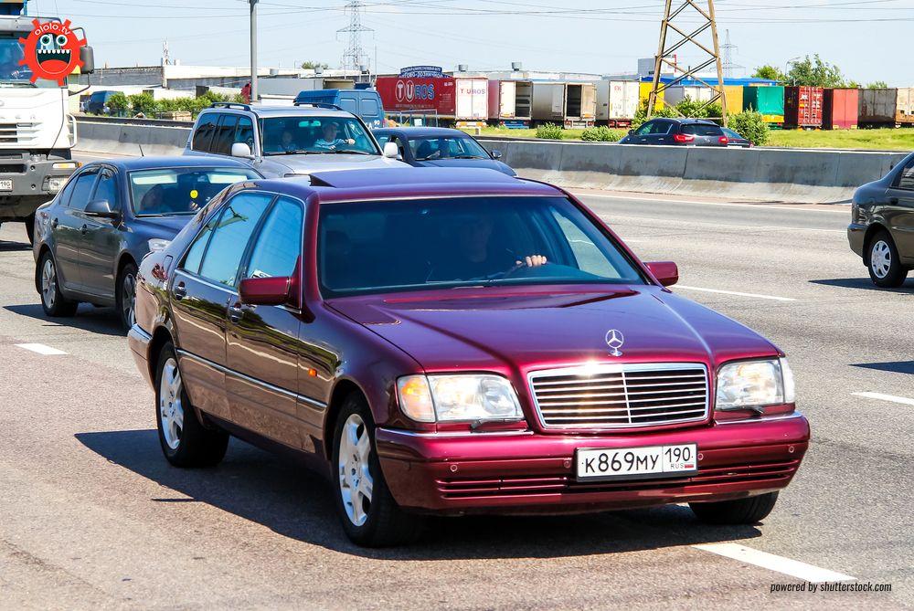 мерседес W140