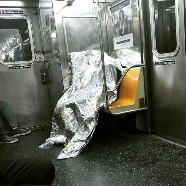 чудные люди в метро рис 2