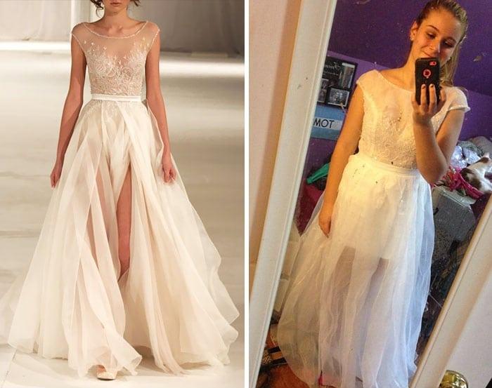 белое платье рис 2