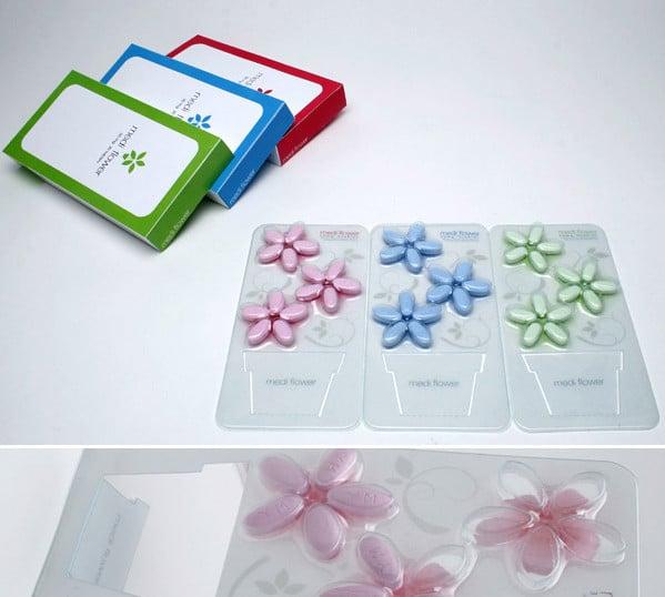 Цветочные таблетки