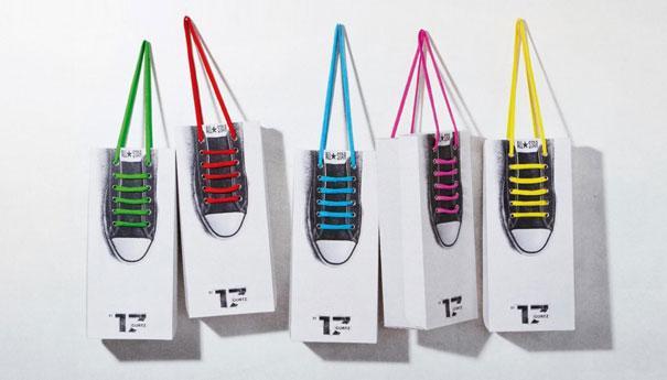 шнурки в упаковке