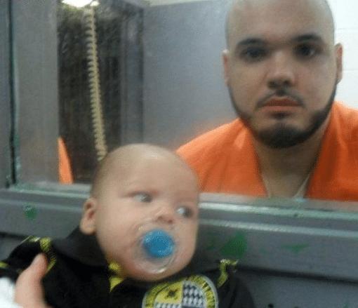 отец в тюрьме и сын
