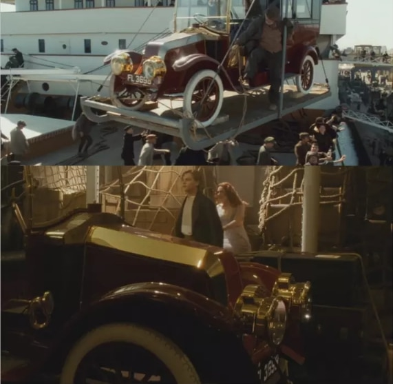 автомобиль с Титаника