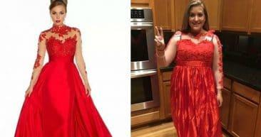 Ожидание и реальность: покупка выпускного платья в интернете!