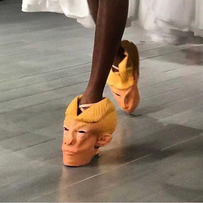 уродливая обувь