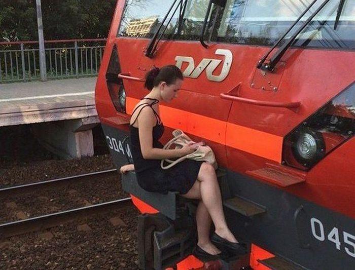 поезд рис 5