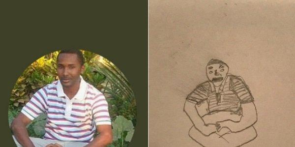 рисунок парня