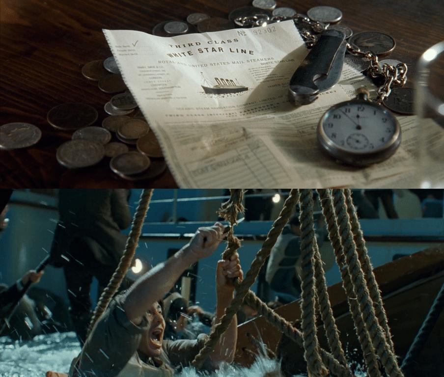 кадры из фильма Титаник
