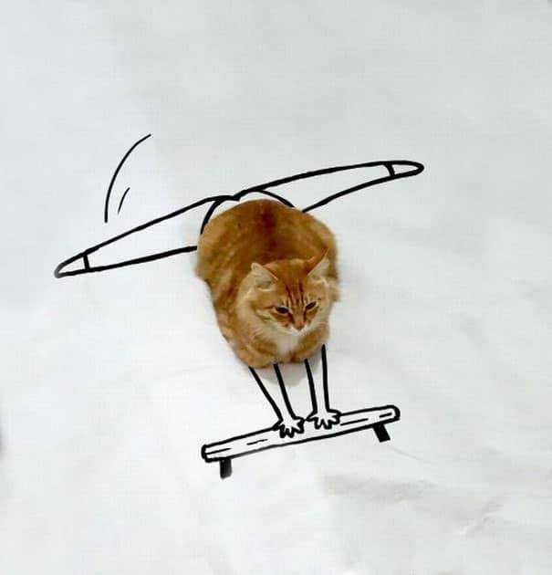 рыжий кот рис 2