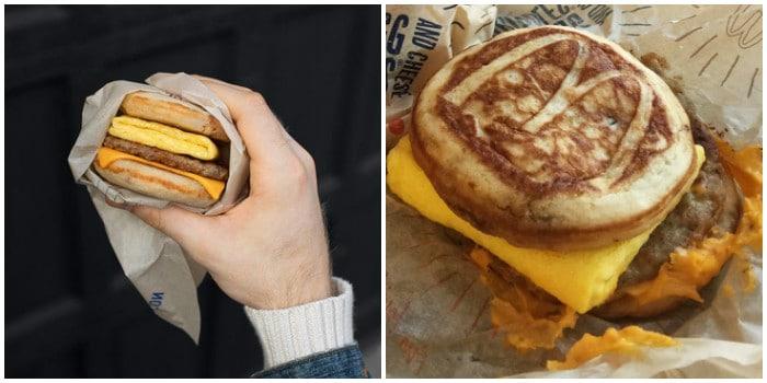 ожидание и реальность: бургер из Макдака