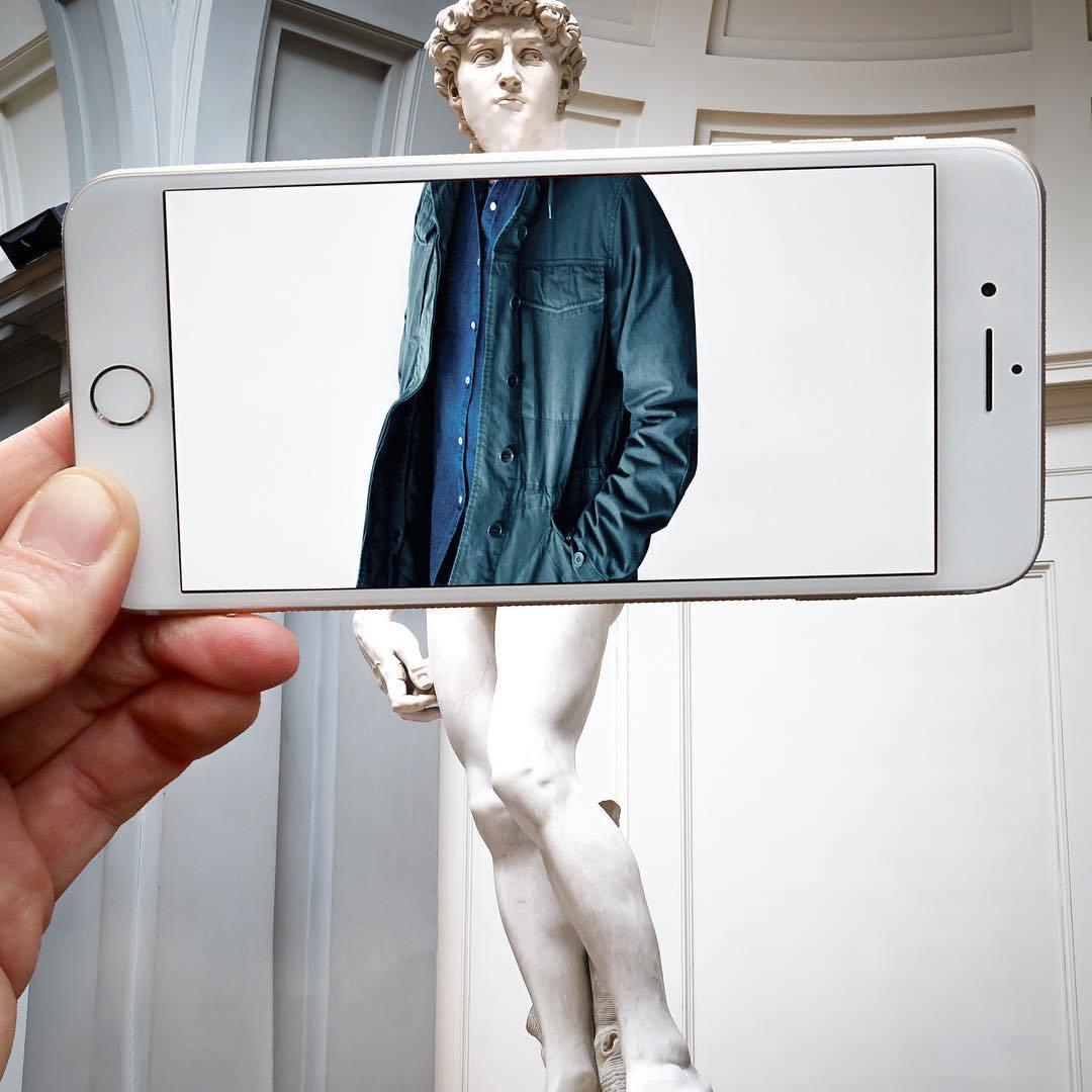 статуя Давиду