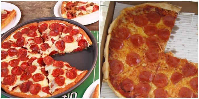 ожидание и реальность: пицца