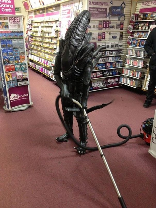 странности в супермаркете