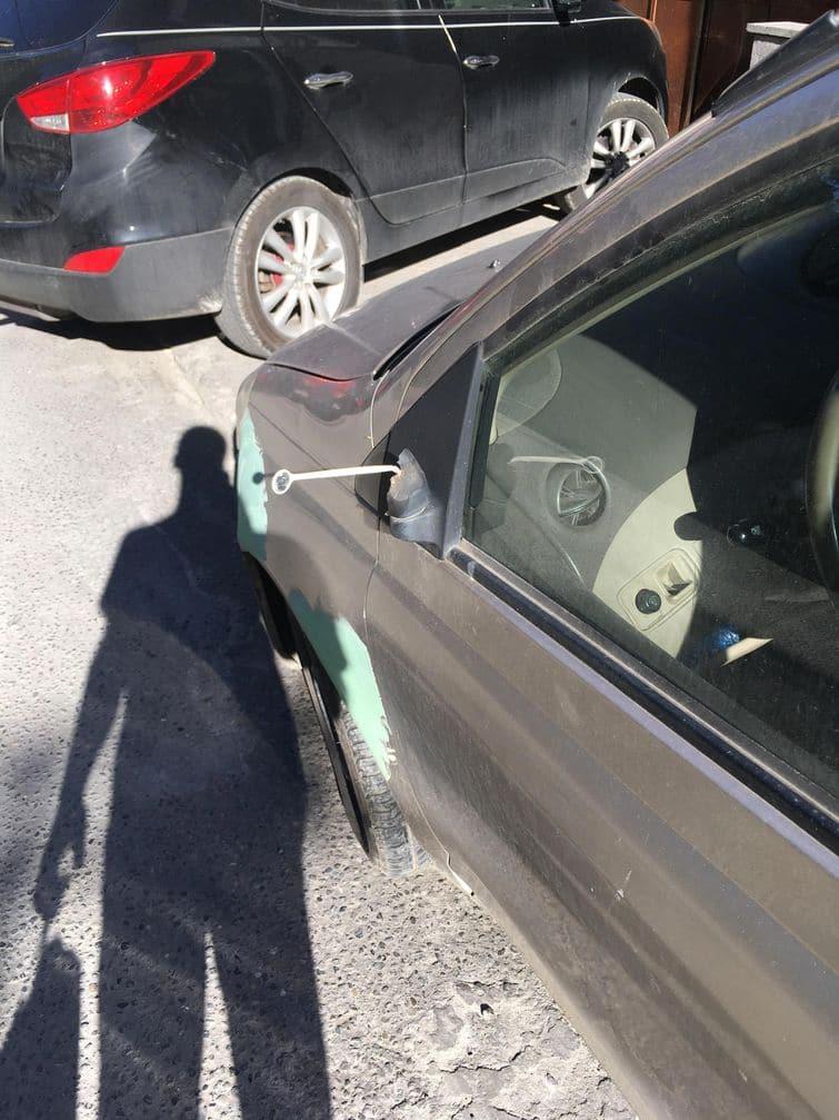 зеркало дантиста на авто
