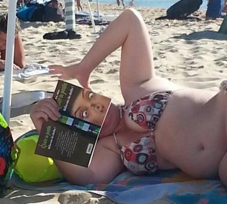 необычное фото на пляже