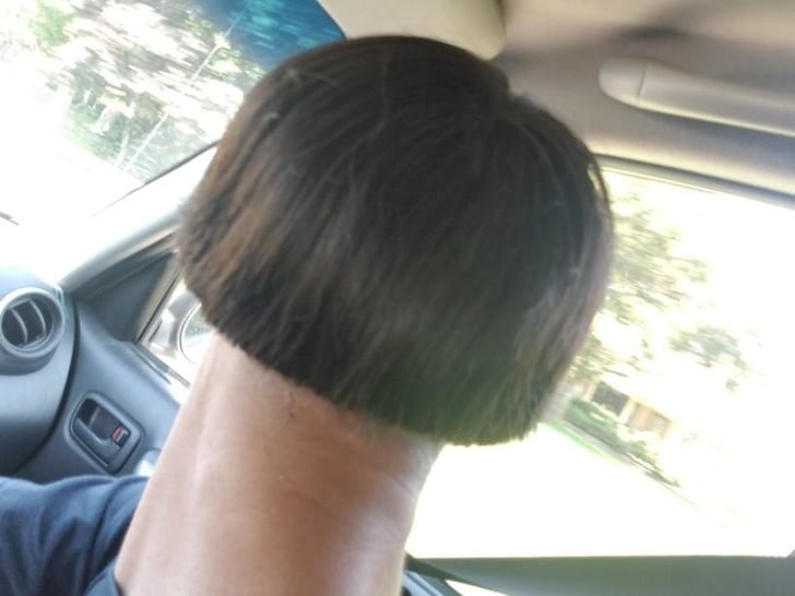 очень длинная шея
