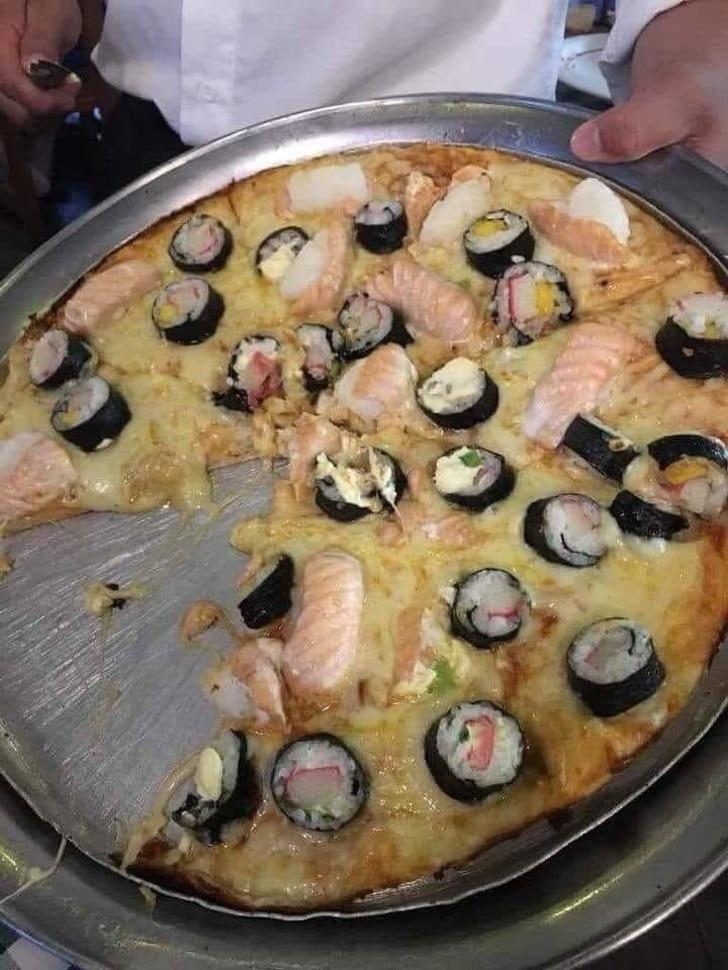 пицца из того что было