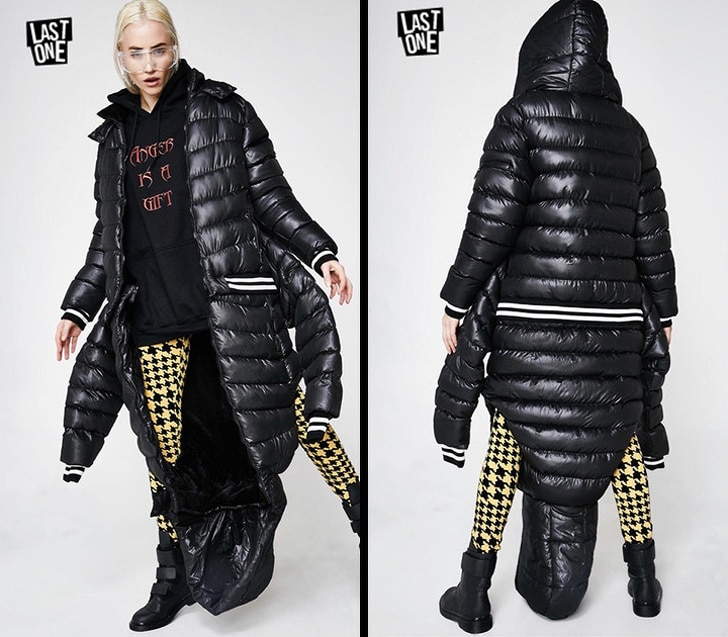 реверсивная куртка
