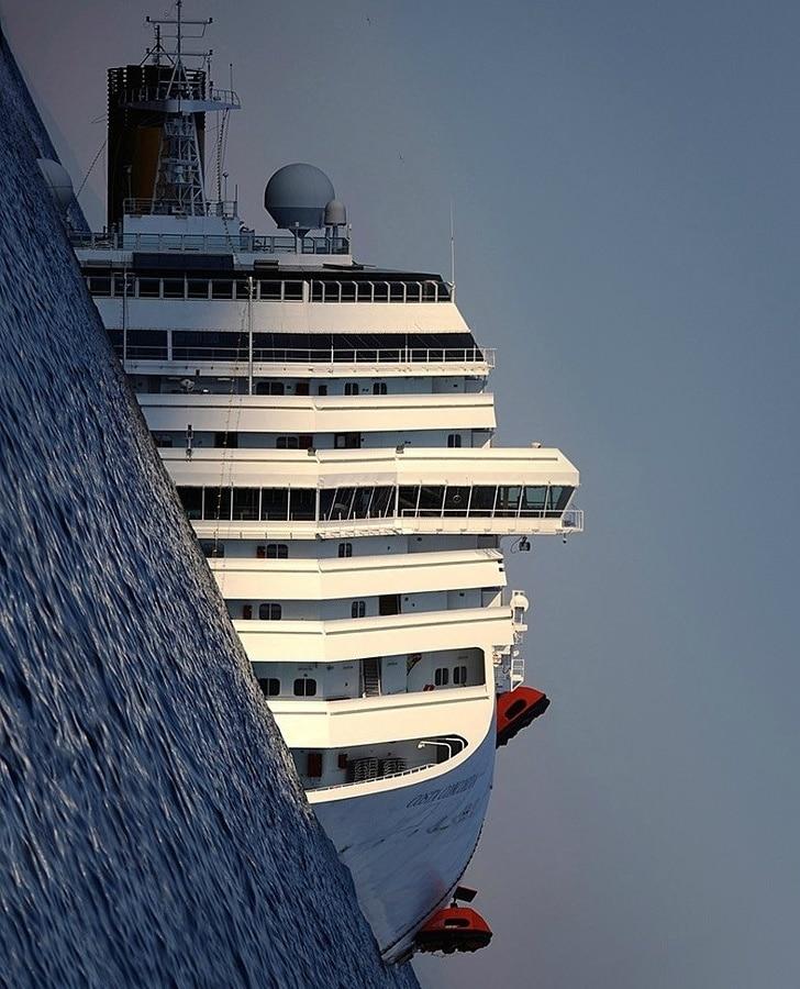 крушение судна Коста Конкордия