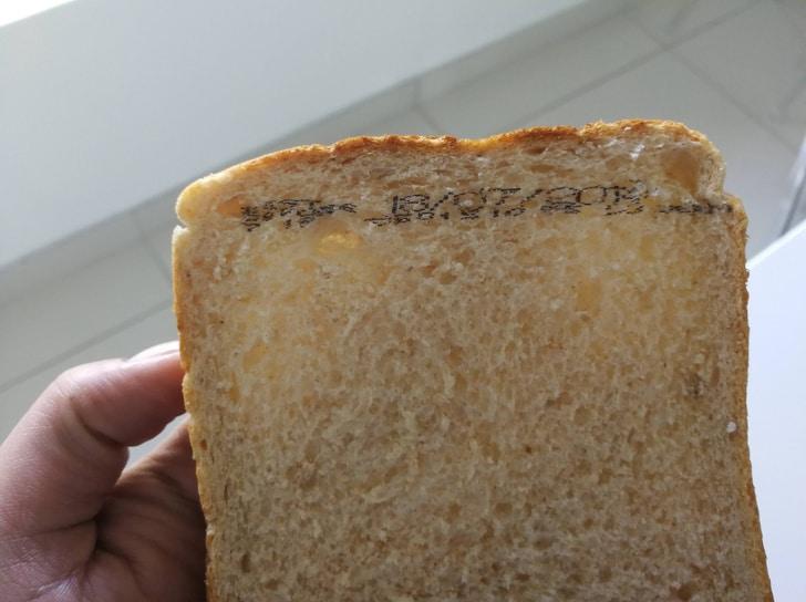 печать на хлебе