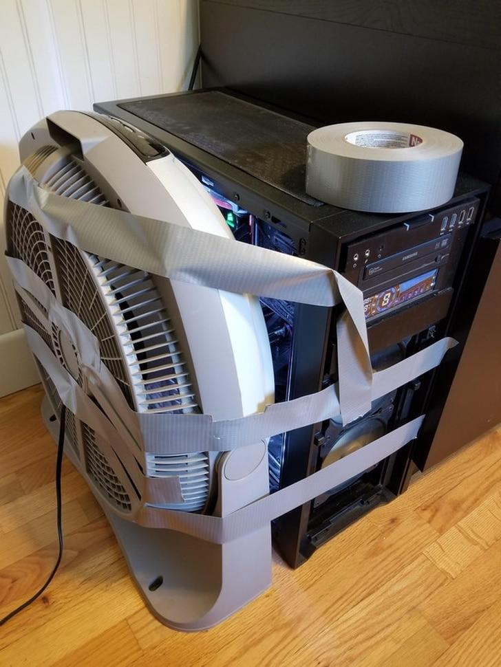охлаждение компьютера
