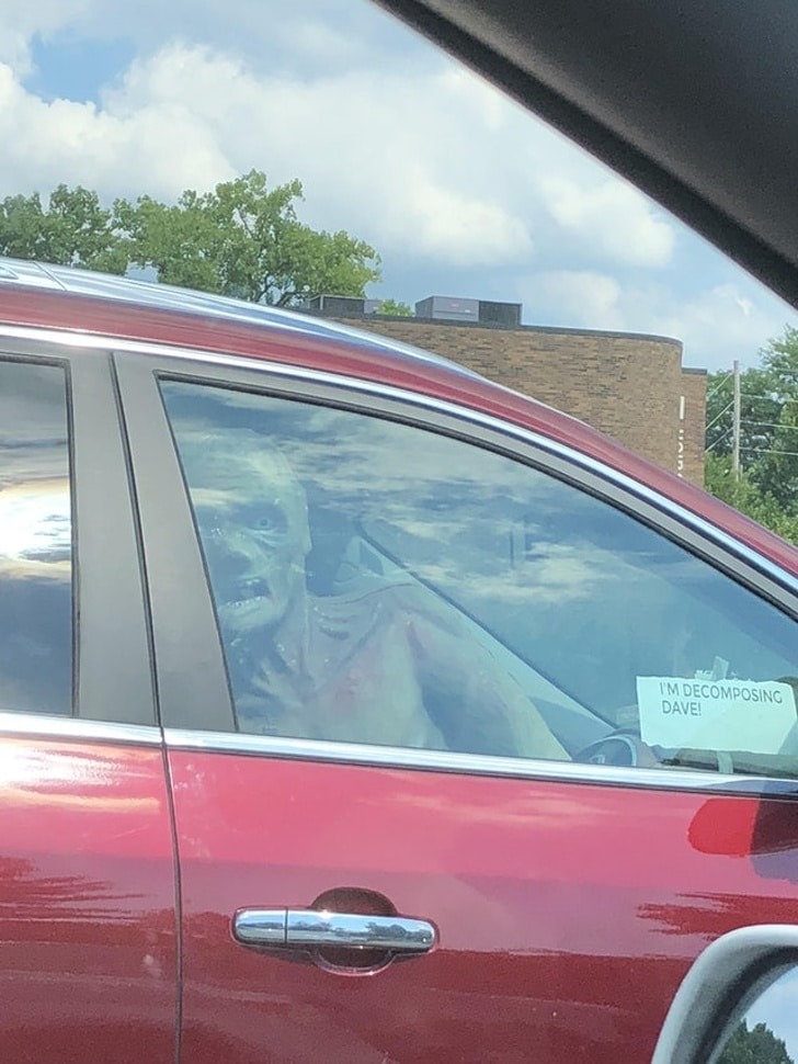 монстр в машине